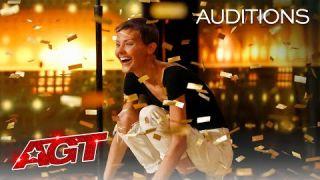 Golden Buzzer: Nightbirde's Original Song Makes Simon Cowell Emotional - America's Got Talent 2021