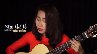Đêm Nhớ Về Sài Gòn - Nguyên Nhung (Guitar Cover)