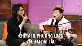 Chí Tài & Phương Loan - Yêu Em Dài Lâu | Hồng Đào Show | Vietface TV