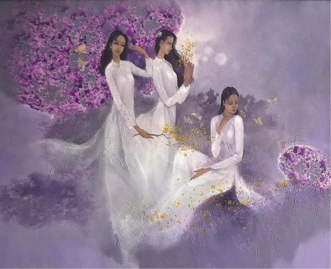 Hội họa Nét đẹp qua tranh của Họa sĩ Đặng Can