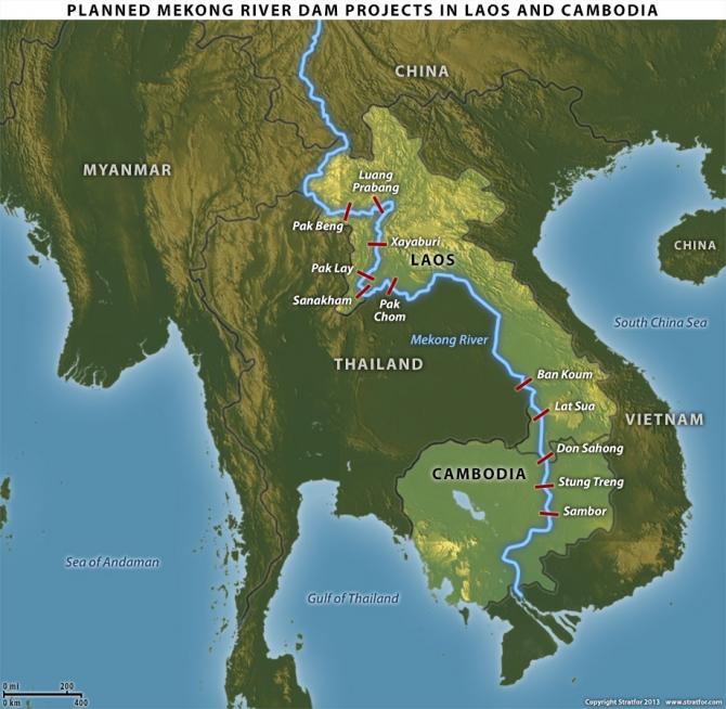 Sau biển Đông, mục tiêu của Trung Quốc sẽ là Mekong River