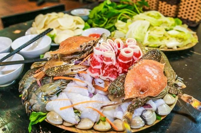 Những quán ăn hải sản & quán chè Đà Nẵng