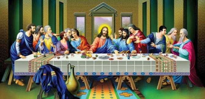 """""""Bữa tiệc cuối cùng"""" của Leonardo da Vinci: Những điều đặc biệt"""