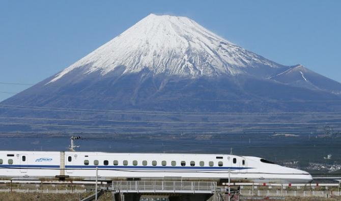 Tàu điện siêu tốc Shinkansen -