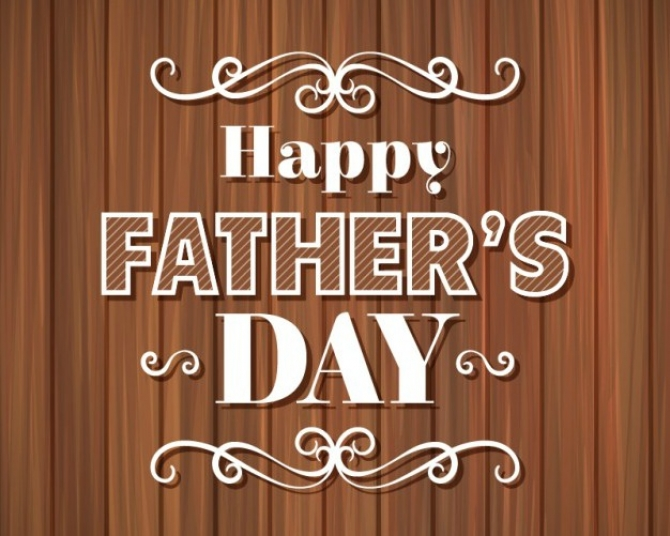 Happy Father's Day, Daddy!