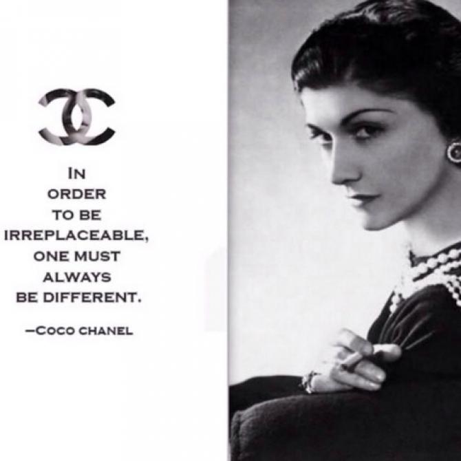 Nhà thiết kế lừng danh Coco Chanel