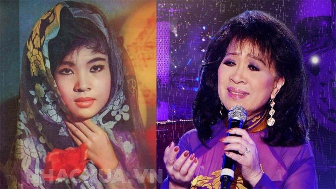"""Hình ảnh """"xưa và nay"""" của các ca sĩ nhạc vàng nổi tiếng trước 1975"""