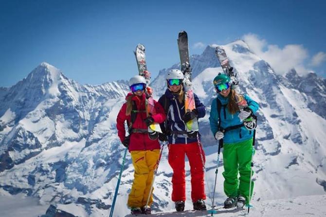 Hôm Nay Tôi Đi Học Trượt Tuyết