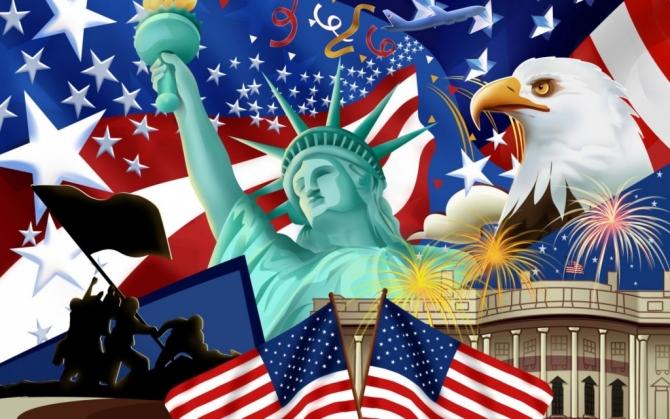 CHÀO MỪNG NGÀY LỄ ĐỘC LẬP HOA KỲ THỨ 244 (1776 - 2020) - Cảm Nghĩ Ngày July Fourth