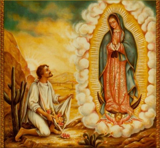 Bí ẩn bức hình Đức mẹ xuất hiện trên tấm áo choàng