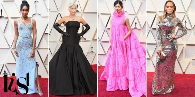 10 chiếc váy đẹp nhất trên thảm đỏ Oscar 2019