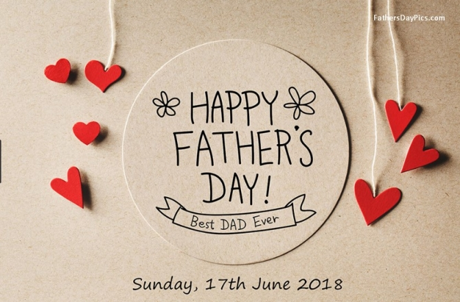 HAPPY FARTHER'S DAY: Tình cha