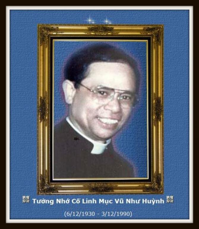 Tưởng nhớ và tri ân cố Linh mục Antôn Vũ Như Huỳnh ( 1990 - 2018 )